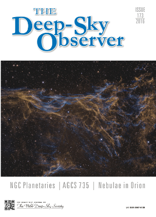The Deep-Sky Observer 173 Cover