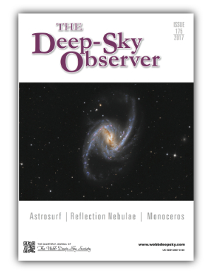 The Deep-Sky Observer 175 Cover