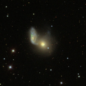 Arp 91 galaxy group and NGC 5951 was provided by the Sloan Digital Sky Survey (SDSS)