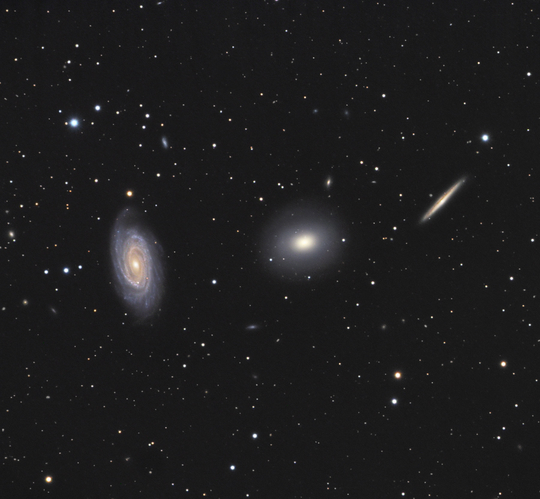 the draco triplet - image courtesy of dr dietmar hager