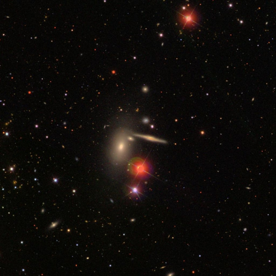 hickson37 group - image courtesy of sdss