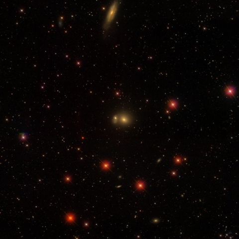 LGG 117 - Image Courtesy the Sloan Sky Survey