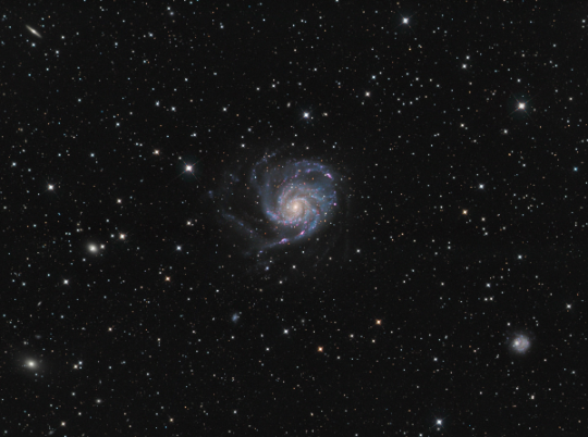 M101 Wide Field - Image Courtesy of Bob and Janice Fera