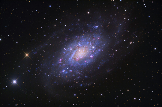 ngc2403 - image courtesy of adam block/mount lemmon skycenter/university of arizona
