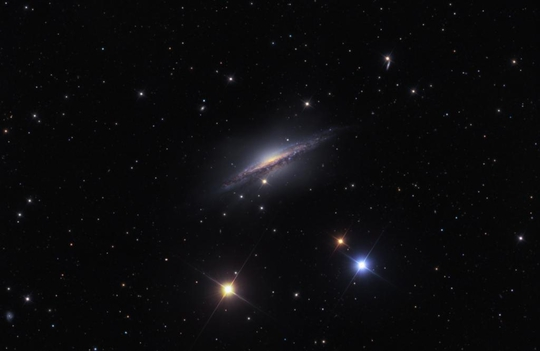 ngc 1055 - image courtesy of ken crawford