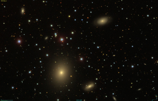 NGC2513 Group - Image Courtesy the Sloan Sky Survey