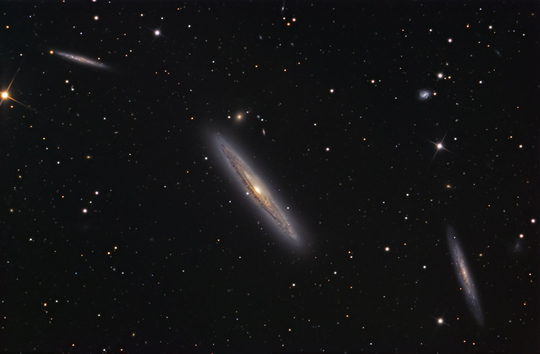ngc4216 image - courtesy of johannes schedler, panther observatory, austria