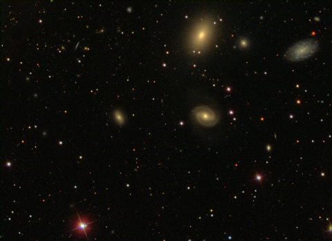 NGC 507 - Image Courtesy the Sloan Sky Survey