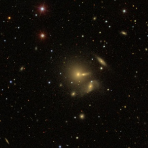 NGC 7436 group was provided by the Sloan Digital Sky Survey (SDSS)