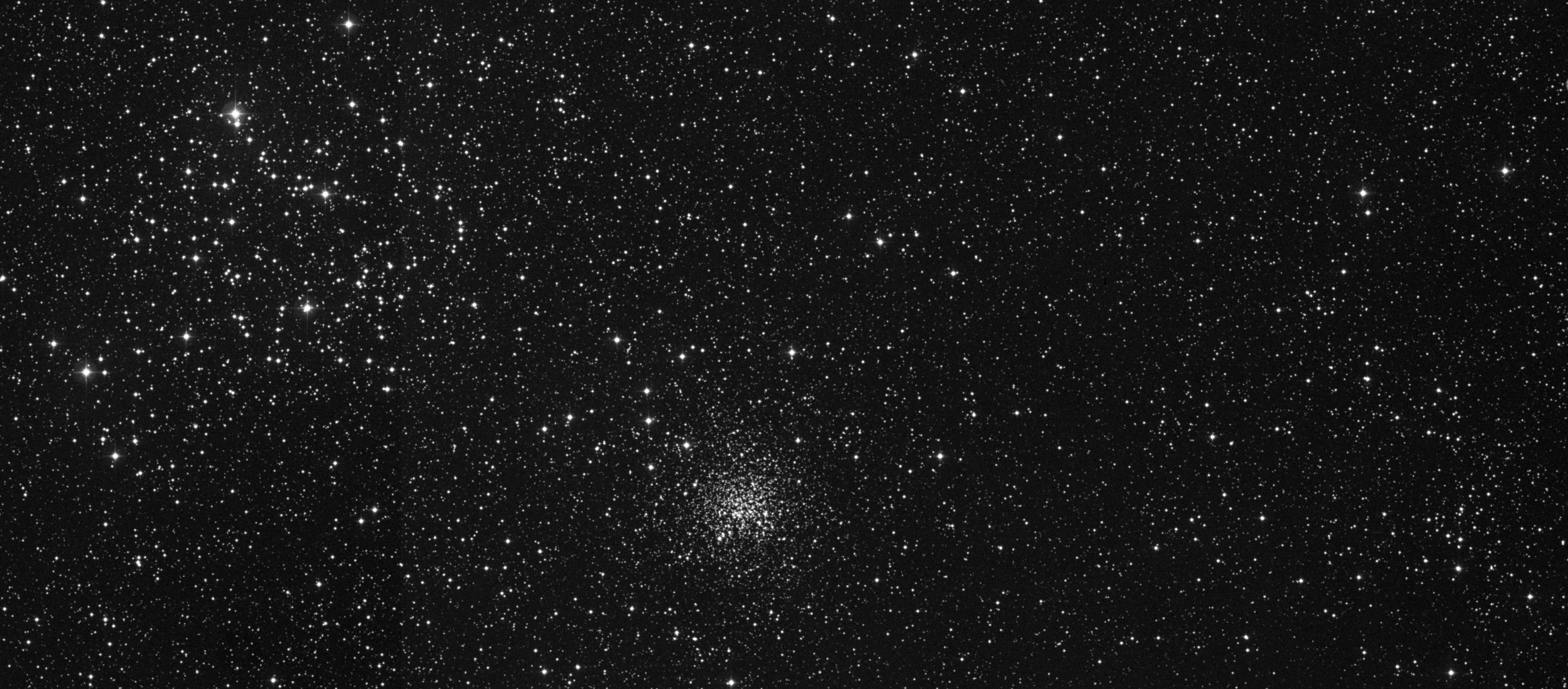 M35/NGC2158/IC2157 in Gemini