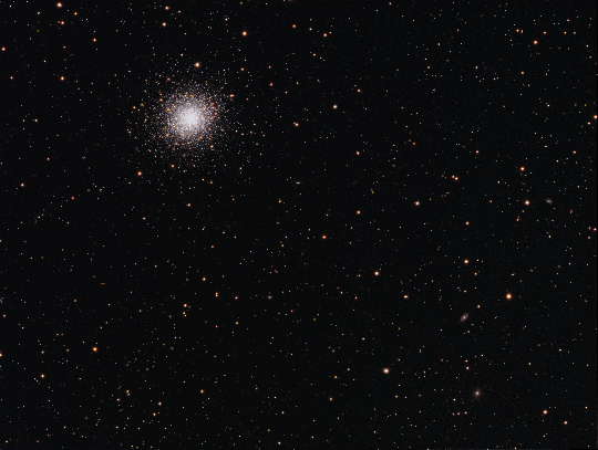 M92 and friends - Image Courtesy of David Davies