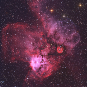 NGC 2467 Nebula in Puppis - Image Courtesy of Don Goldman (Astrodon Imaging)