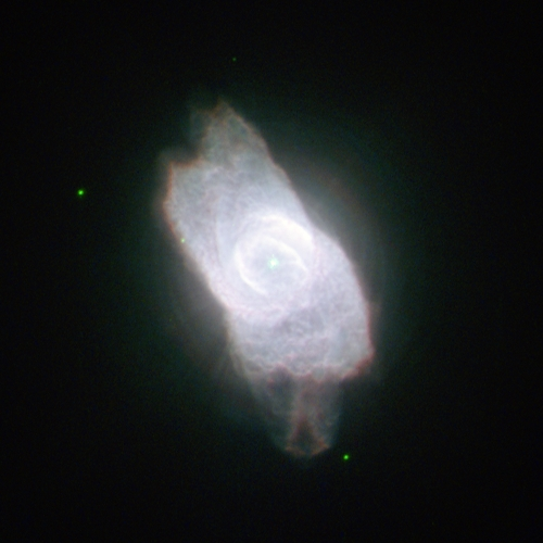 NGC6572 - Image Courtesy of Hubble Space Telescope (HST)