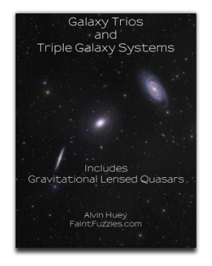 Cover of Galaxy Trios and Triple Galaxy Systems