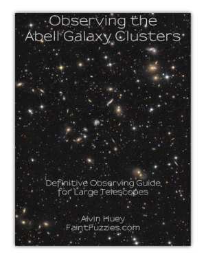 Cover of Observing the Abell Galaxy Clusters