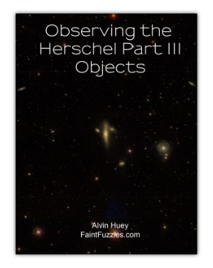 Cover of Observing the Herschel Part lll Objects