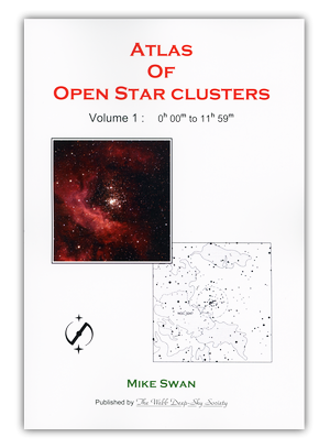 Cover of Volume 1 of the Open Cluster Atlas