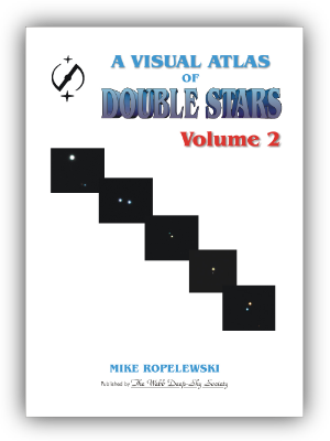 Cover of the Visual Atlas of Double Stars Volume 2