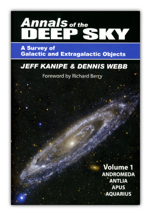 Cover of Volume 1 of the Annals of the Deep Sky