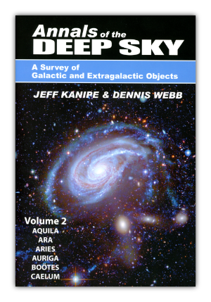 Cover of Volume 2 of the Annals of the Deep Sky