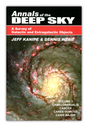 Cover of Volume 3 of the Annals of the Deep Sky
