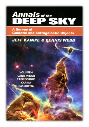 Cover of Volume 4 of the Annals of the Deep Sky
